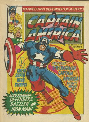 Captain America #8