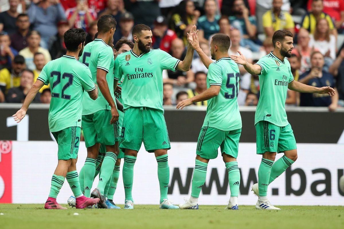 نتيجة مباراة ريال مدريد وريد بول اليوم الأربعاء 07-08-2019 الودية