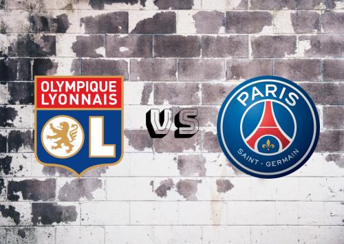 Olympique Lyonnais vs PSG  Resumen y Partido Completo