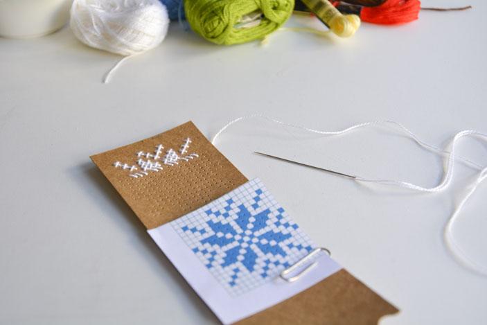Empezamos a coser