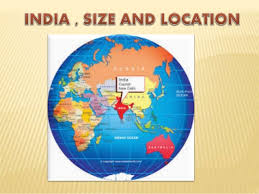 India size and location