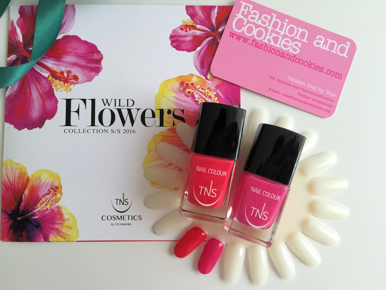 TNS Cosmetics Wild Flowers collection swatches on Fashion and Cookies beauty blog, beauty blogger