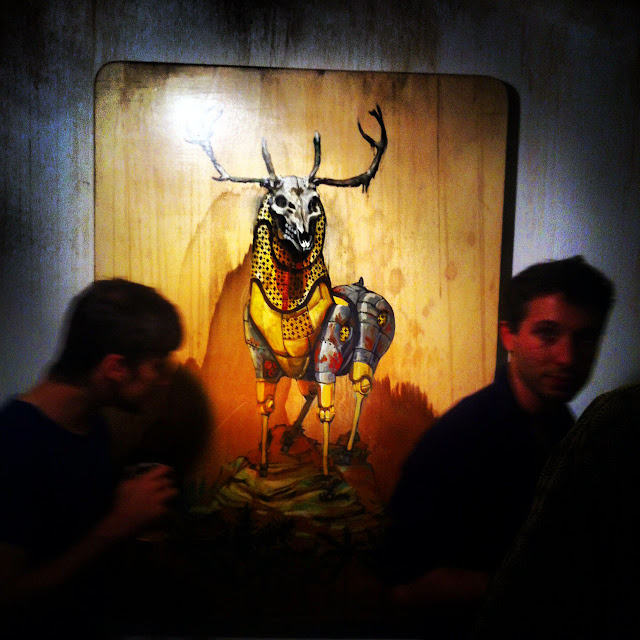 """Coverage Of Pixel Pancho """"The Garden Of Eden"""" New Solo Show In Turin, Italy 1"""