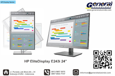 HP EliteDisplay E243i 24