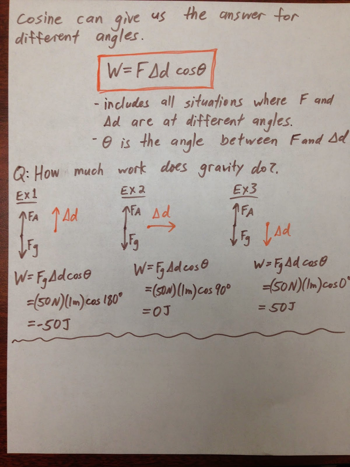 Energy Work And Power Worksheet
