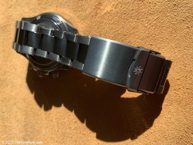 Vesuviate Automatic Chronograph bracelet