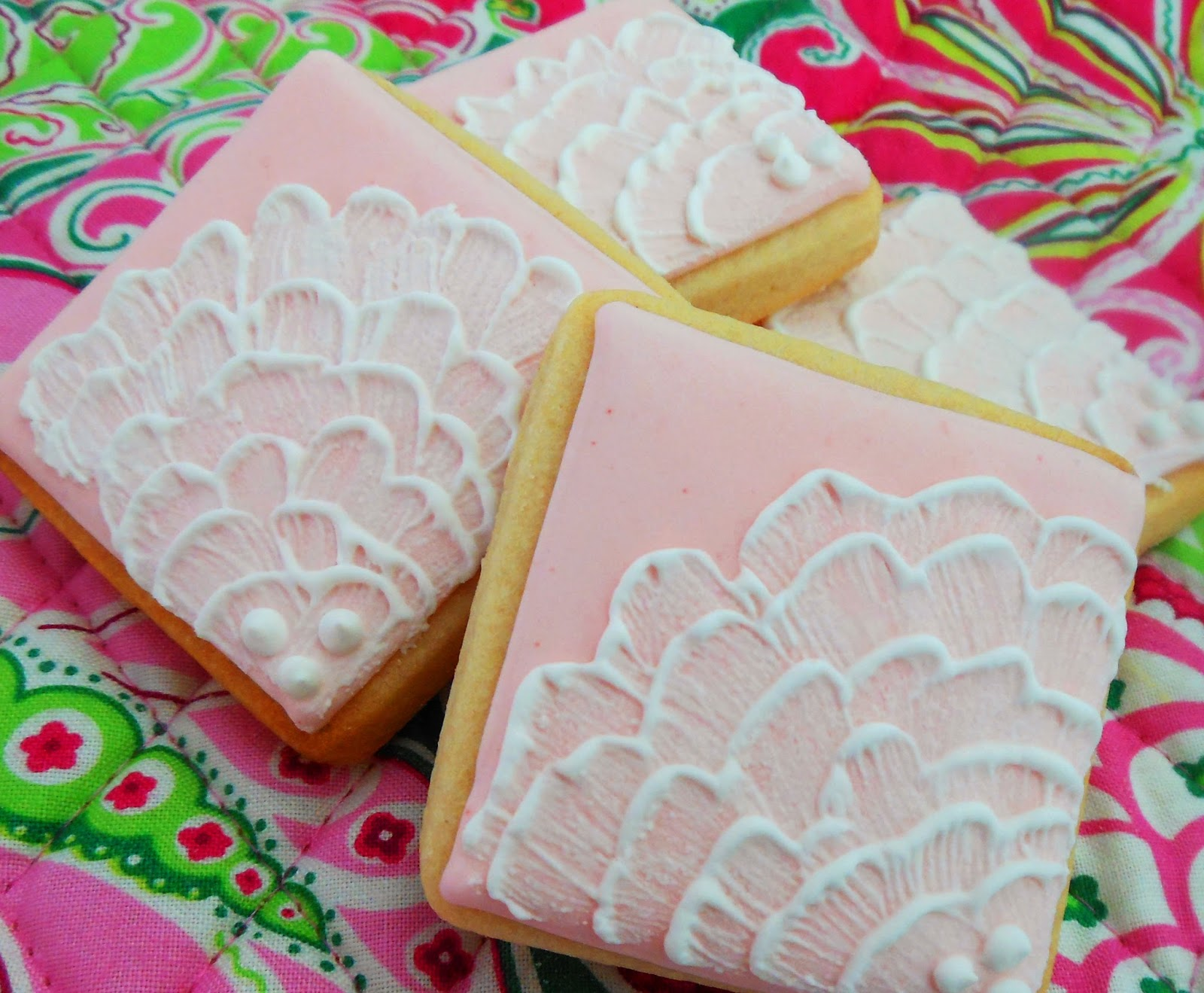 My Cookie Clinic Glittery Square Cookies Luster Dust