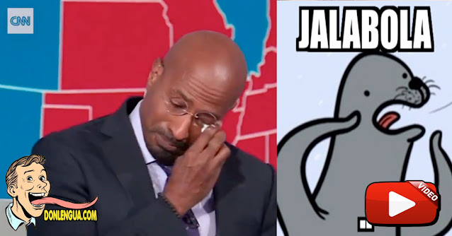 Jalada de Bolas Monumental a Joe Biden : Presentador de CNN hasta lloró!