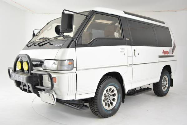 unique 4x4 van 1991 mitsubishi delica exceed auto restorationice. Black Bedroom Furniture Sets. Home Design Ideas