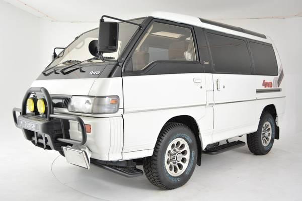 Unique 4x4 Van, 1991 Mitsubishi Delica Exceed