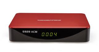 TOCOMFREE S929 ACM NOVA ATUALIZAÇÃO V 2.06 - 13/02/2021