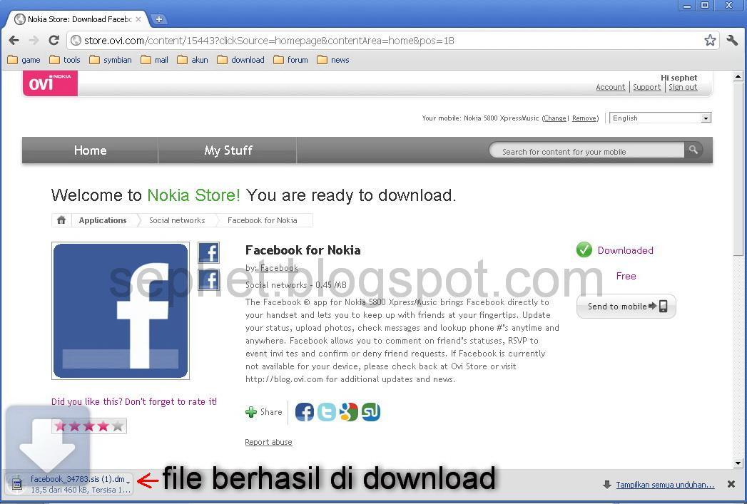Trick Cara Download Aplikasi Dan Menginstal Aplikasi Dari Ovi Store N A Dengan Hex Editor Sephet Symbian S