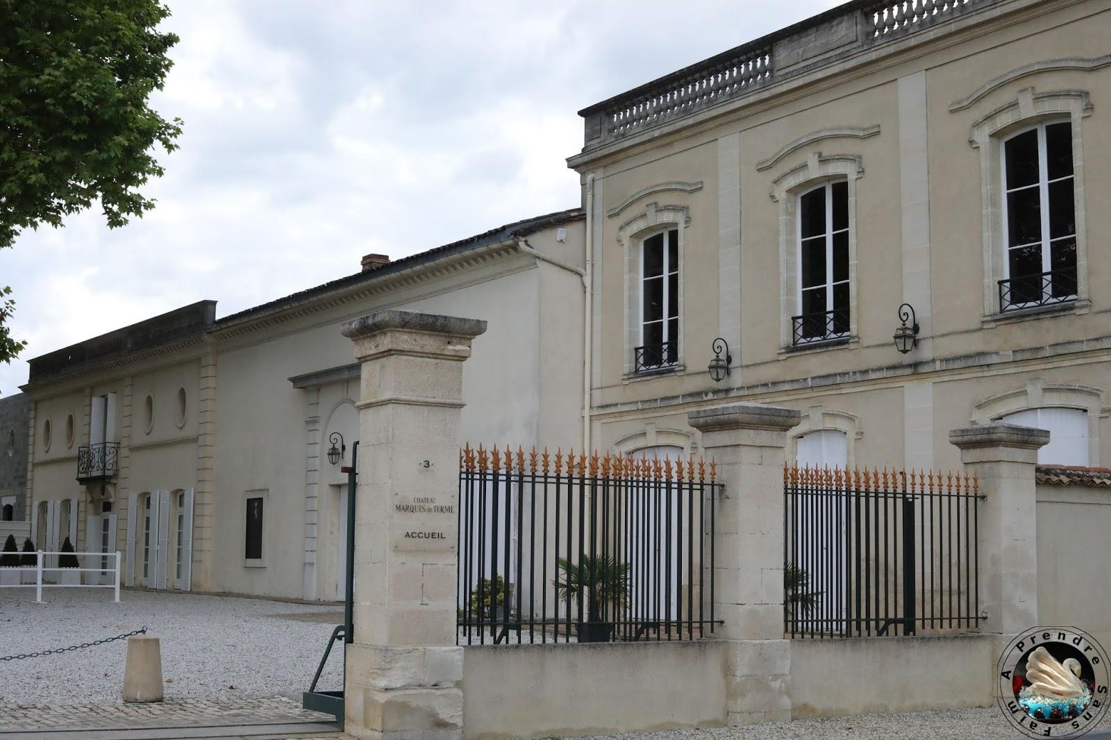Visite et dégustations au Château Marquis de Terme