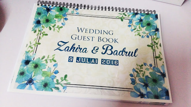 custom made design guest book