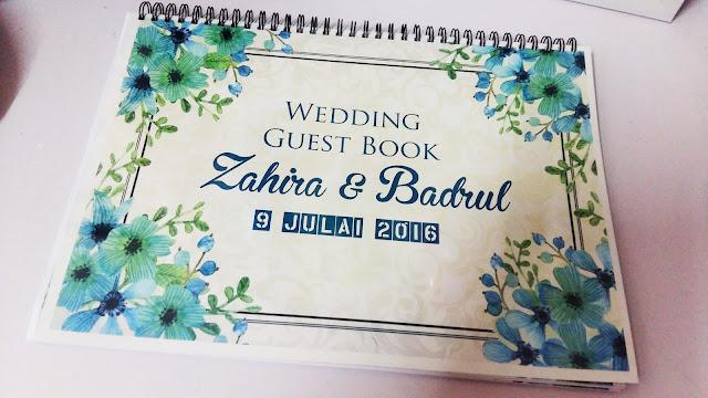 custom made design guest book