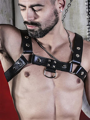 BoXer-Shoulder-Leather-Harness-with-Ring-Hook-Black-Gayrado-Online-Shop