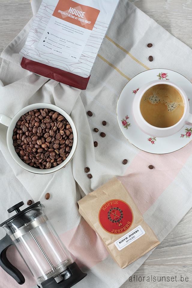 De beste koffiewinkels in Antwerpen #kooplokaal - a floral sunset