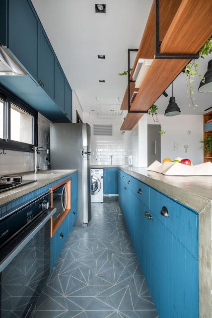 cozinhas-azuis