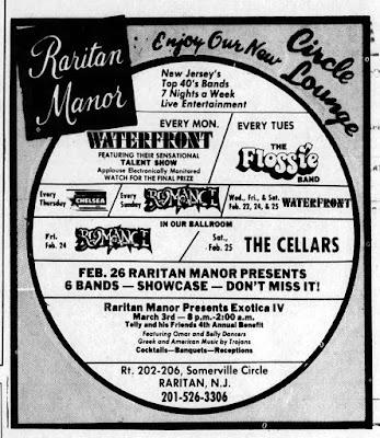 The Raritan Manor band line up