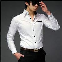 Beyaz gömlek kombin