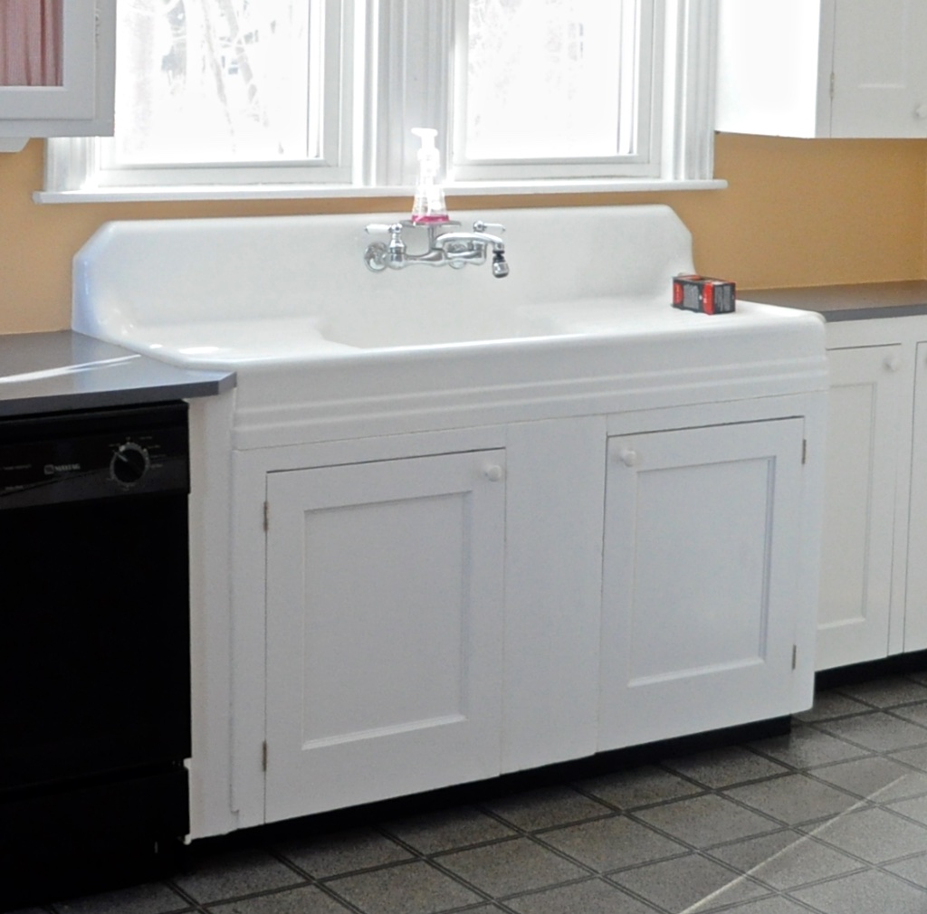 SoPo Cottage: Creating A Showpiece Of Our Antique Kitchen Sink