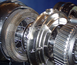 industrial gas turbine power generation
