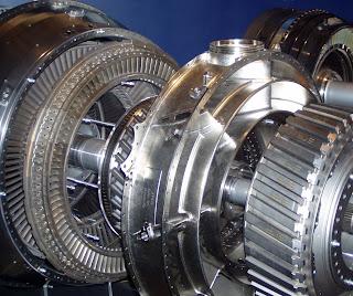 industrial gas turbine power generation