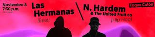 POS Concierto N. HARDEM y LAS HERMANAS en Bogotá