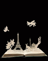 papercut, bookdesign, skyline