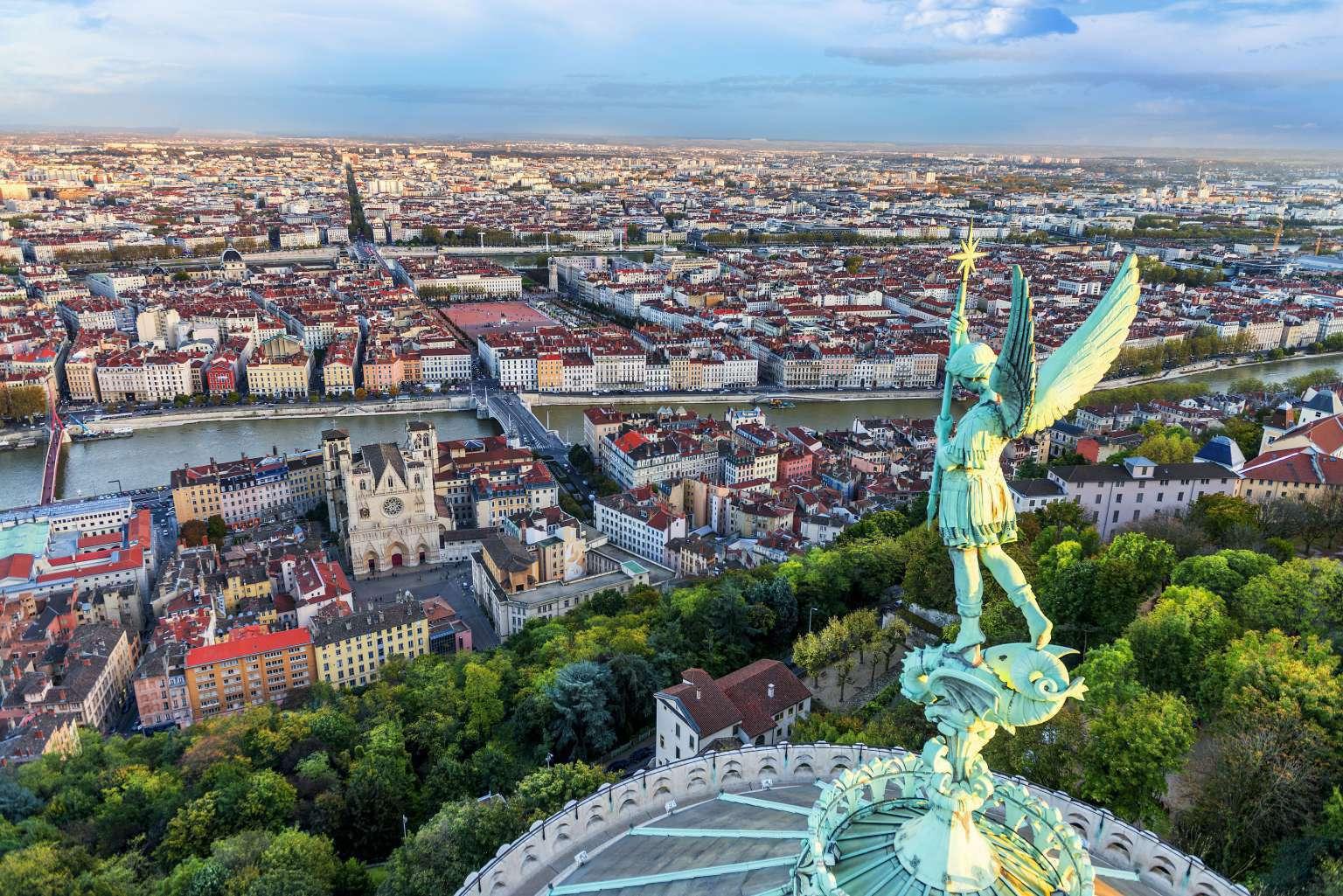 Lyon depuis Fourvière visite guidée Lyon