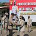 Karo Log Polda Sumsel Melepas Pendistribusian Beras Pada Warga yang Terdampak Covid-19
