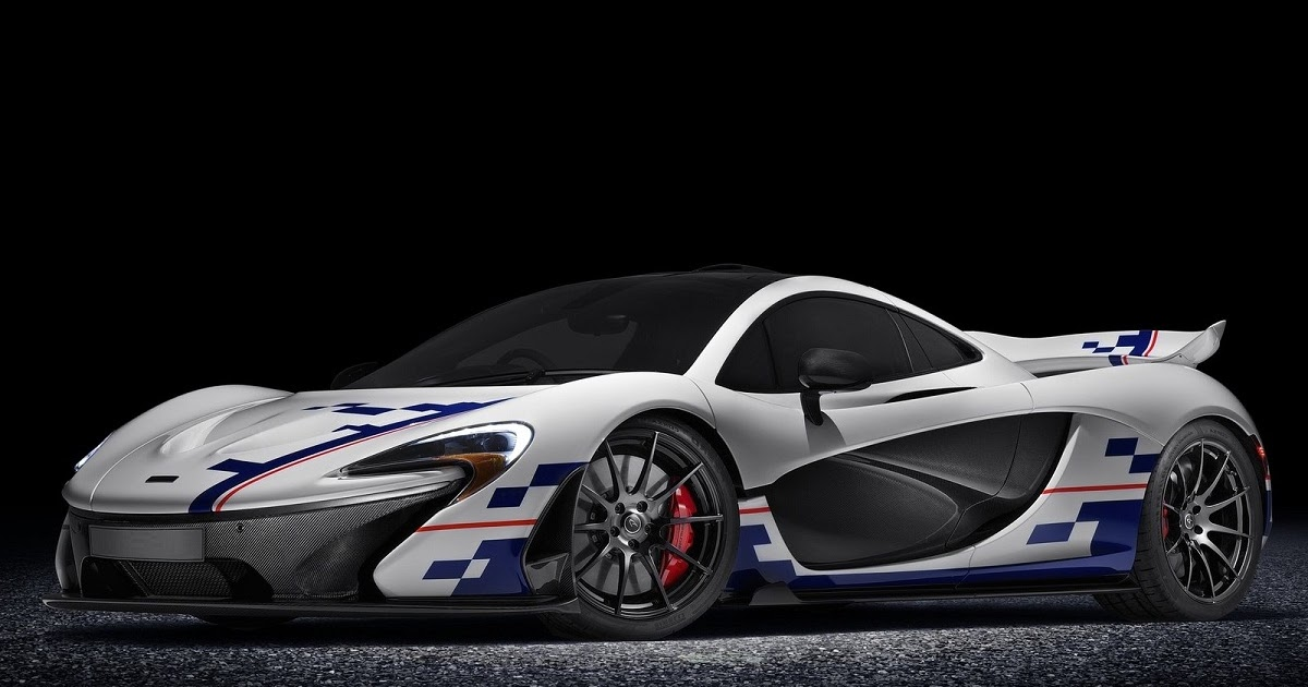 Mclaren P1 Prost Previewed Ahead Of Goodwood Festival Of Speed Car