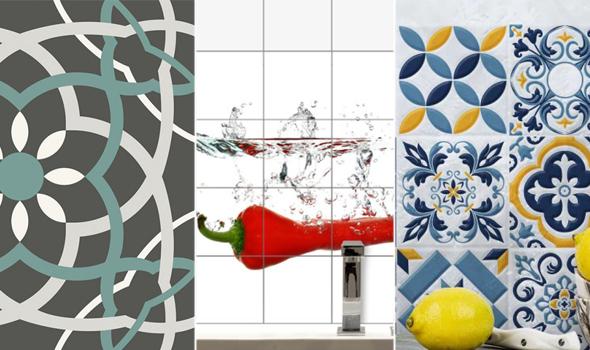 adesivi piastrelle moderni, consigli home, shop online
