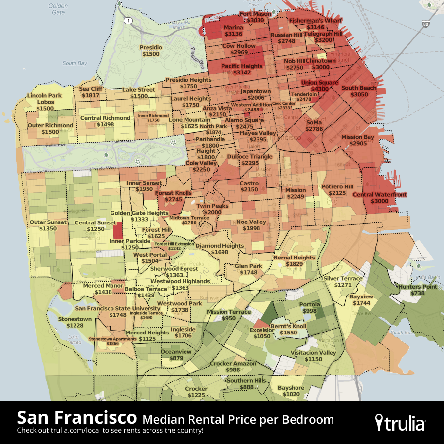 Official Google Cloud Blog Google Maps Helps Trulia Put Some - Is there a color coded map of us crime