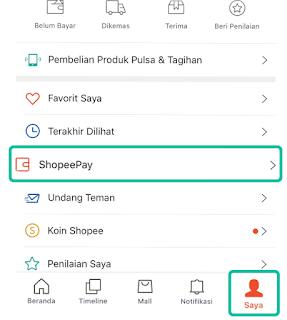 Cara Mengaktivasi Shopeepay
