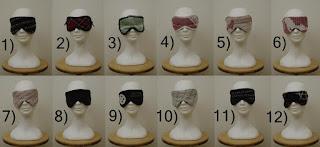 silmälaput / silmäsuojat