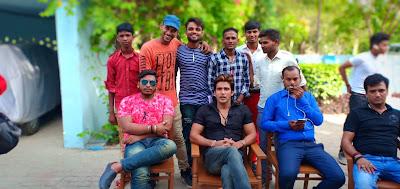Ishq Na Karna Shooting Pics