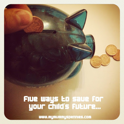 five ways to save for your child's future