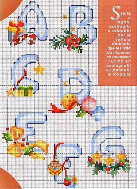 Punto croce per i bambini la mia passione alfabeti e for Alfabeti a punto croce per bambini