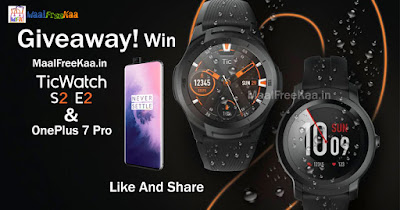 Mobvoi TicWatch E2 + S2 & OnePlus 7 Pro