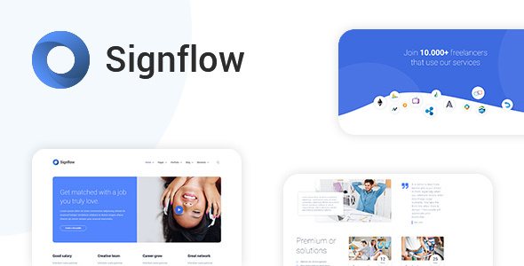 Signflow Tech And Startup Wordpress Themes