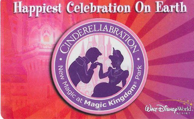 Cinderellabration Magic Kingdom Ticket