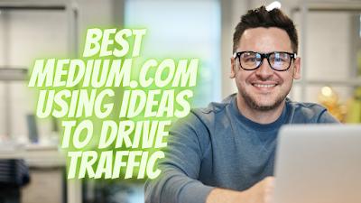 get traffic from medium