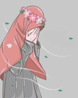 wanita menangis bersedih