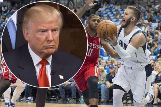 La NBA boicoetea a Donald Trump