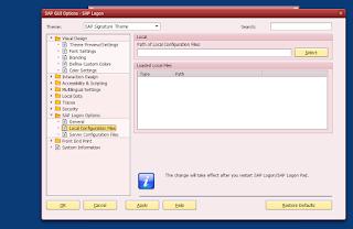 SAP client installation process