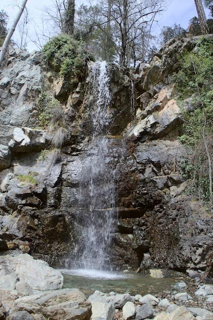 Caledonian waterfall in Cyprus.