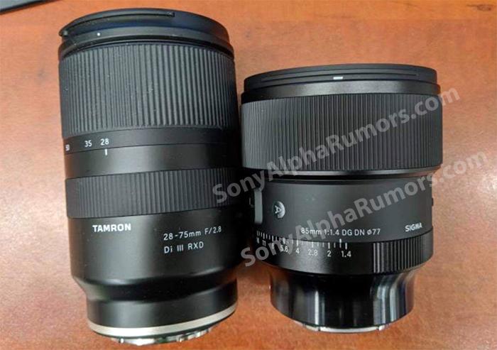 Tamron 28-75mm f/2.8 в сравнении с новым объективом Sigma 85mm f/1.4 DG DN Art