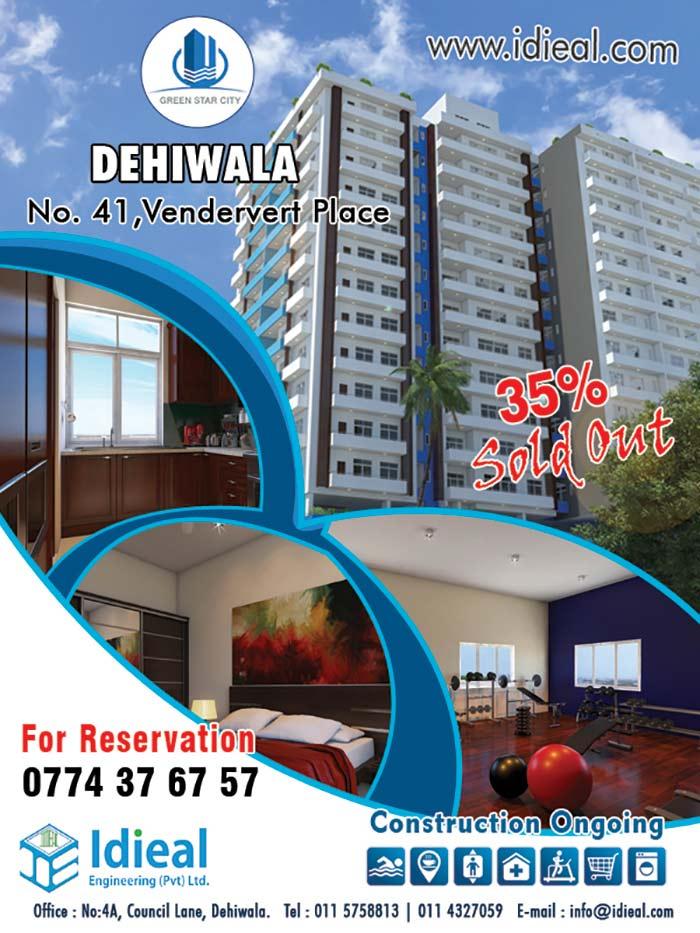 Luxury Apartment for sale @ Dehiwala.