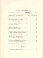 A printed list of illustrations.